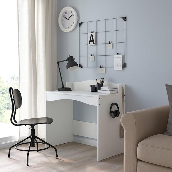 SMÅGÖRA Scrivania, bianco, 93x51 cm