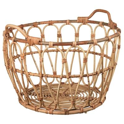 SNIDAD Cestino, rattan, 54x39 cm