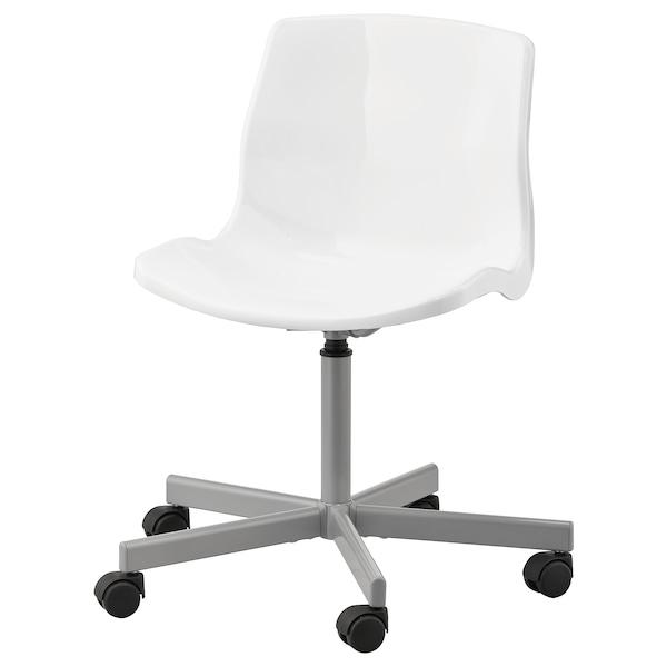 Sedie Di Plastica Ikea.Snille Sedia Girevole Bianco Ikea