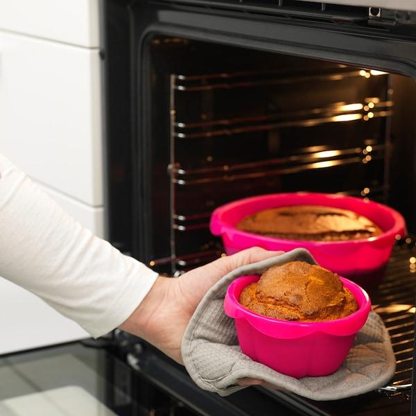 SOCKERKAKA Set di 2 stampi da forno, rosa