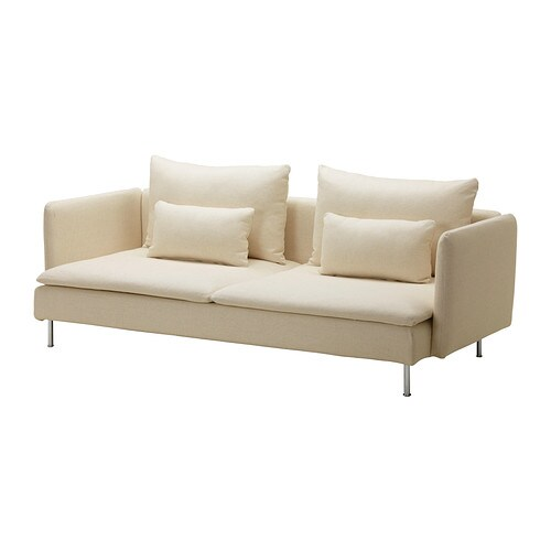 Divano letto IKEA Puoi trasformare velocemente il divano in un letto ...
