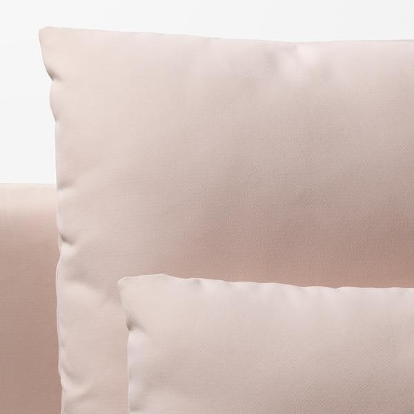 SÖDERHAMN elemento a 3 posti Samsta rosa pallido 186 cm 99 cm 83 cm 186 cm 48 cm 40 cm
