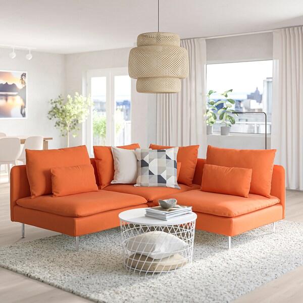 Divani Angolari Offerte Ikea.Soderhamn Divano Angolare A 3 Posti Samsta Arancione Ikea It