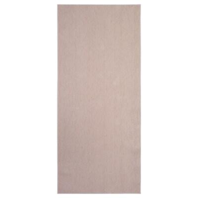 SÖLLINGE Tappeto, tessitura piatta, beige, 65x150 cm
