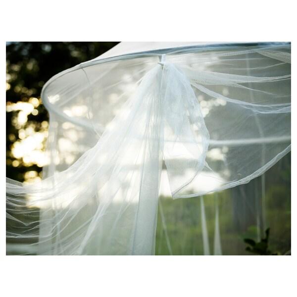 SOLIG Rete, bianco, 150 cm