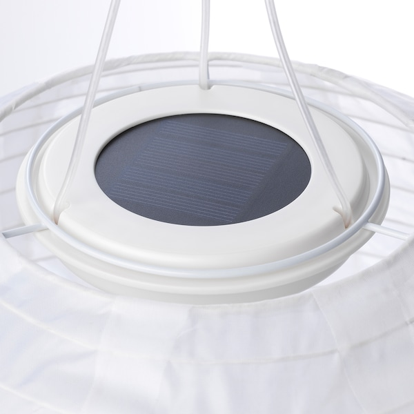 SOLVINDEN lampada sospensione LED energia sol da esterno/globo bianco 3 lm 30 cm 26 cm 26 cm
