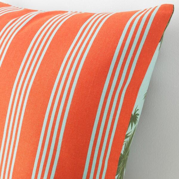SOMMAR 2020 Fodera per cuscino, blu/multicolore, 50x50 cm
