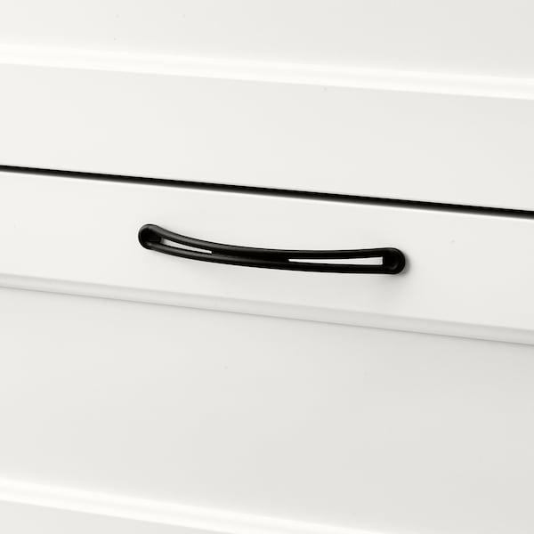 SONGESAND Cassettiera con 6 cassetti, bianco, 161x81 cm