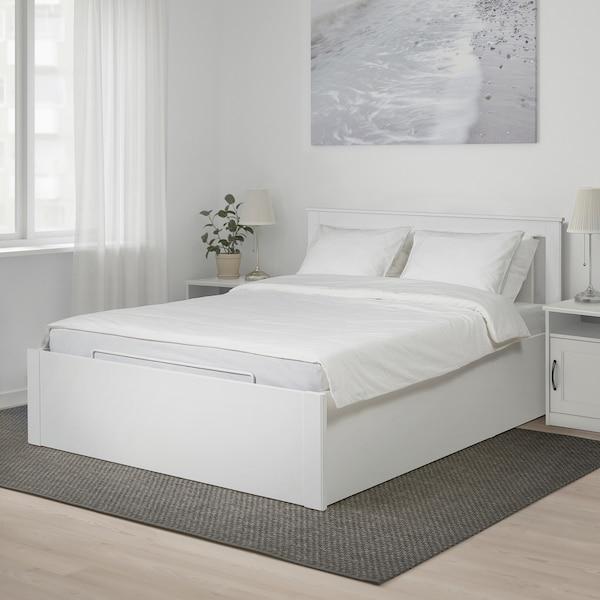 SONGESAND Struttura letto con contenitore - bianco - IKEA