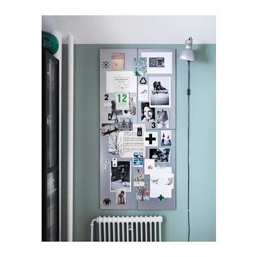 Spontan Bacheca Magnetica Color Argento Ikea