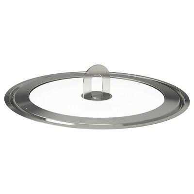 STABIL Coperchio, inox/vetro trasparente, 28 cm
