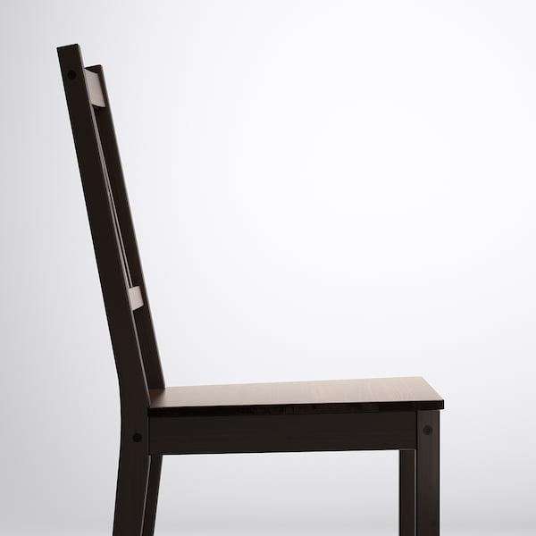 STEFAN Sedia, marrone-nero