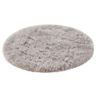 STEIVOR Cuscino per sedia pelle di pecora, grigio, 35 cm