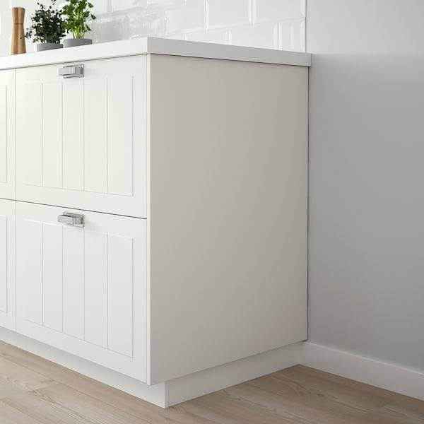 STENSUND Rivestimento laterale, bianco, 39x83 cm
