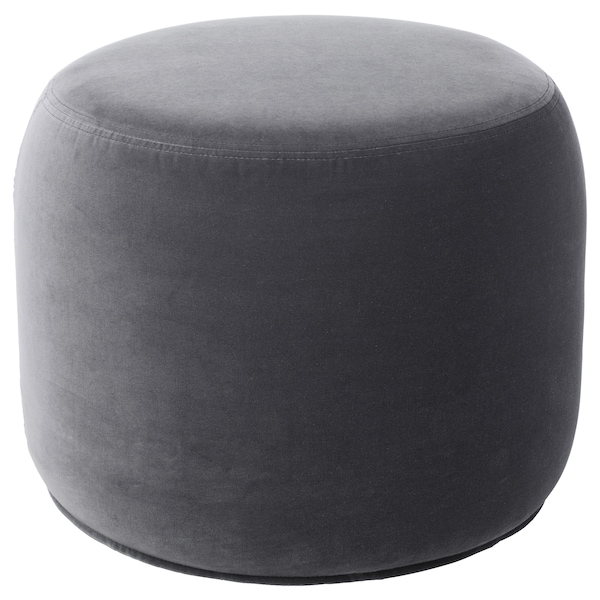 STOCKHOLM 2017 Pouf, Sandbacka grigio scuro, 50x50 cm