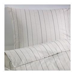 STOCKHOLM Copripiumino singolo e federa, beige - SALDI IKEA Torino