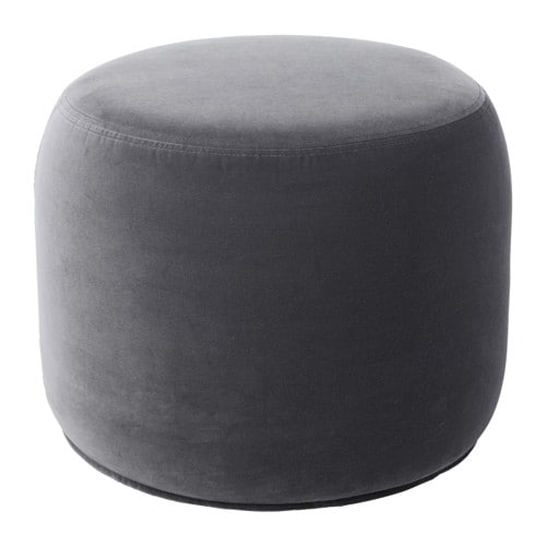 stockholm 2017 pouf sandbacka grigio scuro ikea. Black Bedroom Furniture Sets. Home Design Ideas