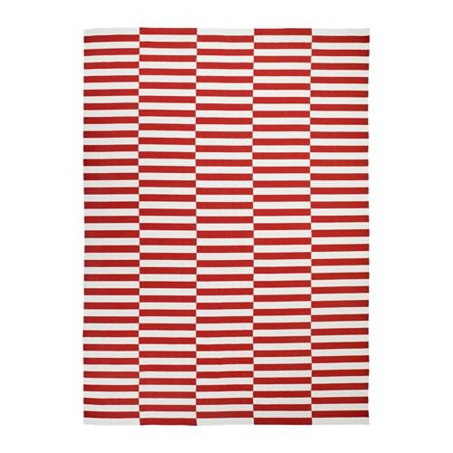 Stockholm 2017 tappeto tessitura piatta ikea - Tappeto rosso ikea ...