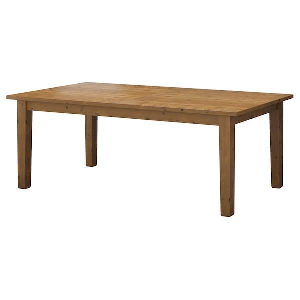 Tavolo Da Esterno Allungabile Ikea.Stornas Tavolo Allungabile Mordente Anticato Leggi I Dettagli