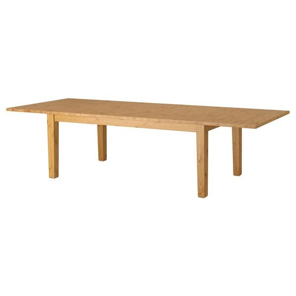 Ikea Tavolo Quadrato Allungabile.Stornas Tavolo Allungabile Mordente Anticato Leggi I Dettagli