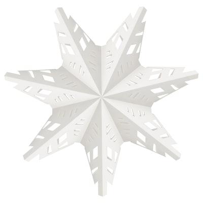STRÅLA Paralume, fiocco di neve, 48 cm