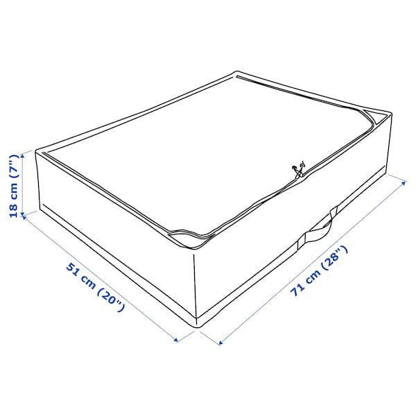 STUK Custodia, bianco/grigio, 71x51x18 cm