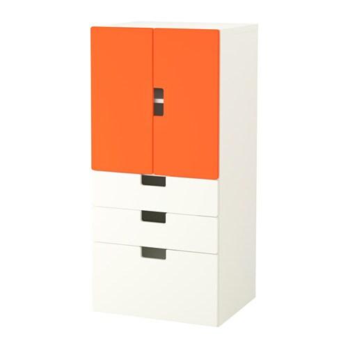 Stuva combinazione ante cassetti bianco arancione ikea - Mobili stuva ikea ...