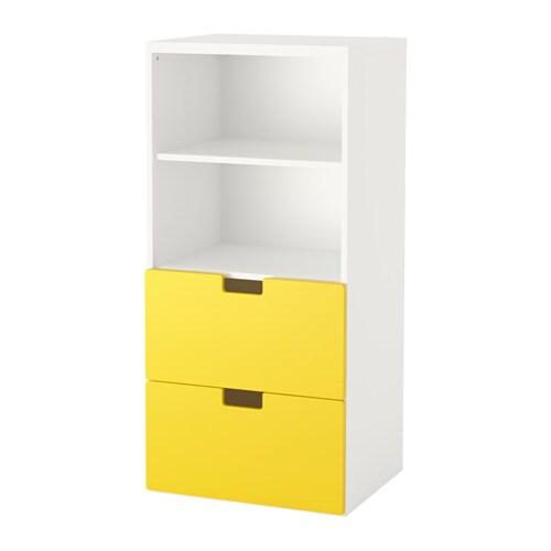 Stuva combinazione di mobili bianco giallo ikea - Mobili cameretta ikea ...