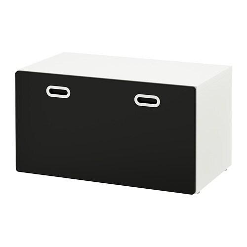 Cassapanca Plastica Per Giocattoli.Stuva Fritids Panca Con Contenitore Giocattoli Bianco Superficie