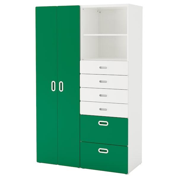 Armadietti In Plastica Ikea.Stuva Fritids Guardaroba Bianco Verde Ikea