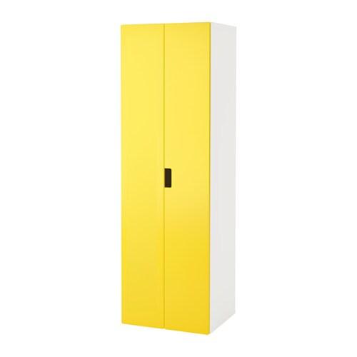 Stuva guardaroba bianco giallo ikea for Ikea guardaroba componibile