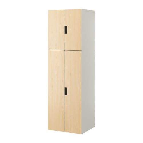 stuva mobile con ante bianco betulla ikea. Black Bedroom Furniture Sets. Home Design Ideas