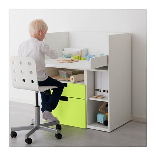 STUVA Scrivania con 2 cassetti - bianco - IKEA
