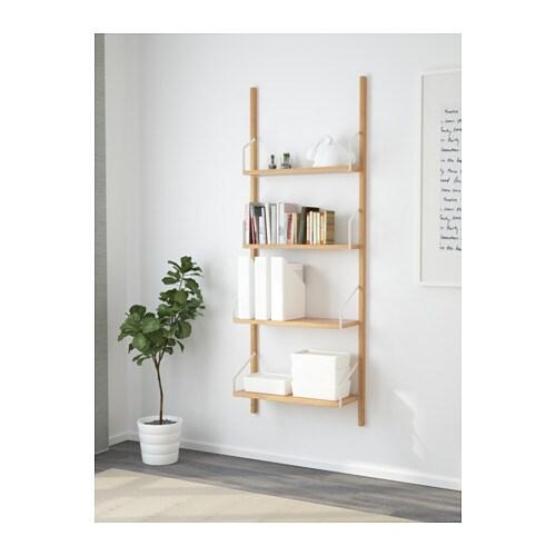 Svalnas Combinazione Di Scaffali Da Parete Ikea