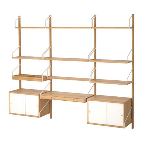 SVALNÄS Combinazione scrivania da parete - IKEA