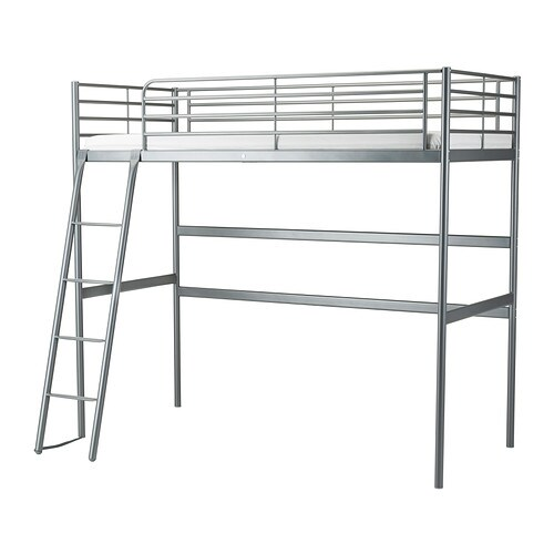 Sv rta struttura per letto a soppalco ikea - Ikea tessili letto ...