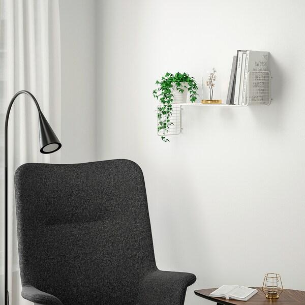 SVENSHULT scaffale da parete bianco 60 cm 20 cm 35 cm 10 kg