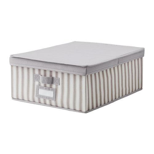 Svira scatola con coperchio 39x48x19 cm ikea - Scatole ikea trasparenti ...