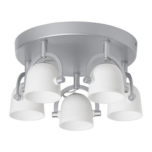 Svirvel faretto da soffitto a 5 luci ikea - Ikea lampade da soffitto ...