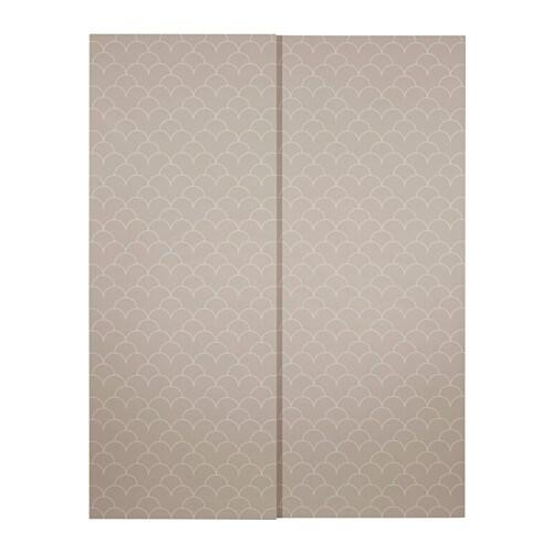 Svorkmo coppia di ante scorrevoli 150x236 cm ikea - Ikea pax ante scorrevoli ...
