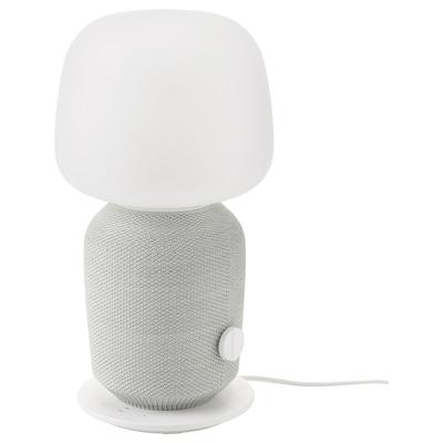 SYMFONISK Lampada da tavolo con cassa Wi-Fi, bianco