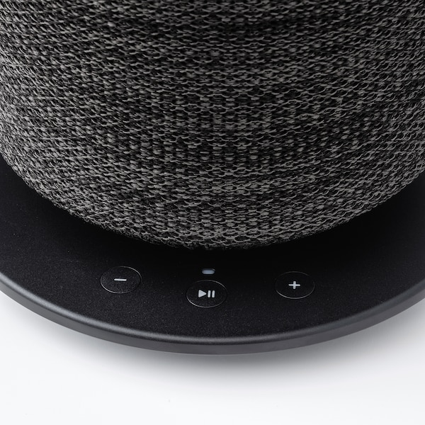 SYMFONISK Lampada da tavolo con cassa Wi-Fi, nero
