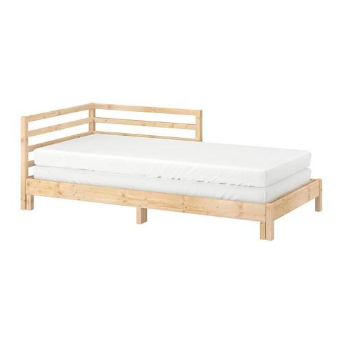 Tarva letto divano con 2 materassi pino malfors rigido ikea - Divano fatto con materassi ...
