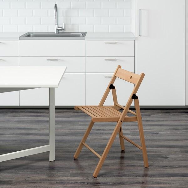 Ikea Sedie Pieghevoli Legno.Terje Sedia Pieghevole Faggio Ikea