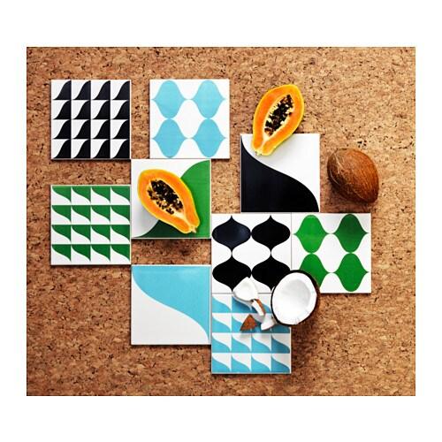 TILLFÄLLE Piastrella per parete IKEA Puoi personalizzare la tua cucina o il tuo bagno combinando le diverse piastrelle.