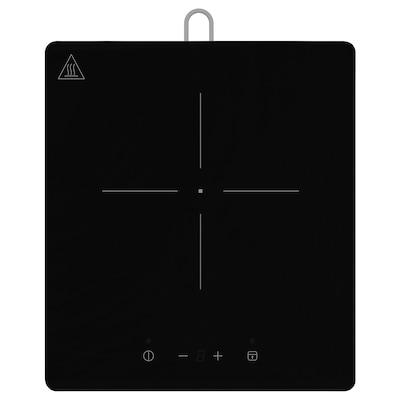 TILLREDA Piano cottura a induzione portatile, 1 zona bianco