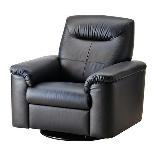 Timsfors poltrona girevole reclinabile mjuk kimstad nero ikea - Poltrona reclinabile ikea ...