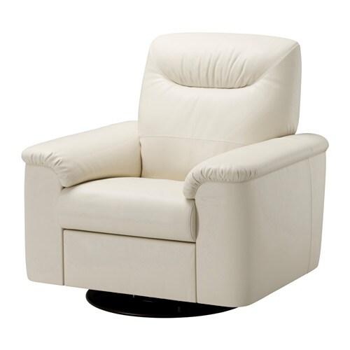 Timsfors poltrona girevole reclinabile mjuk kimstad bianco sporco ikea - Poltrona reclinabile ikea ...