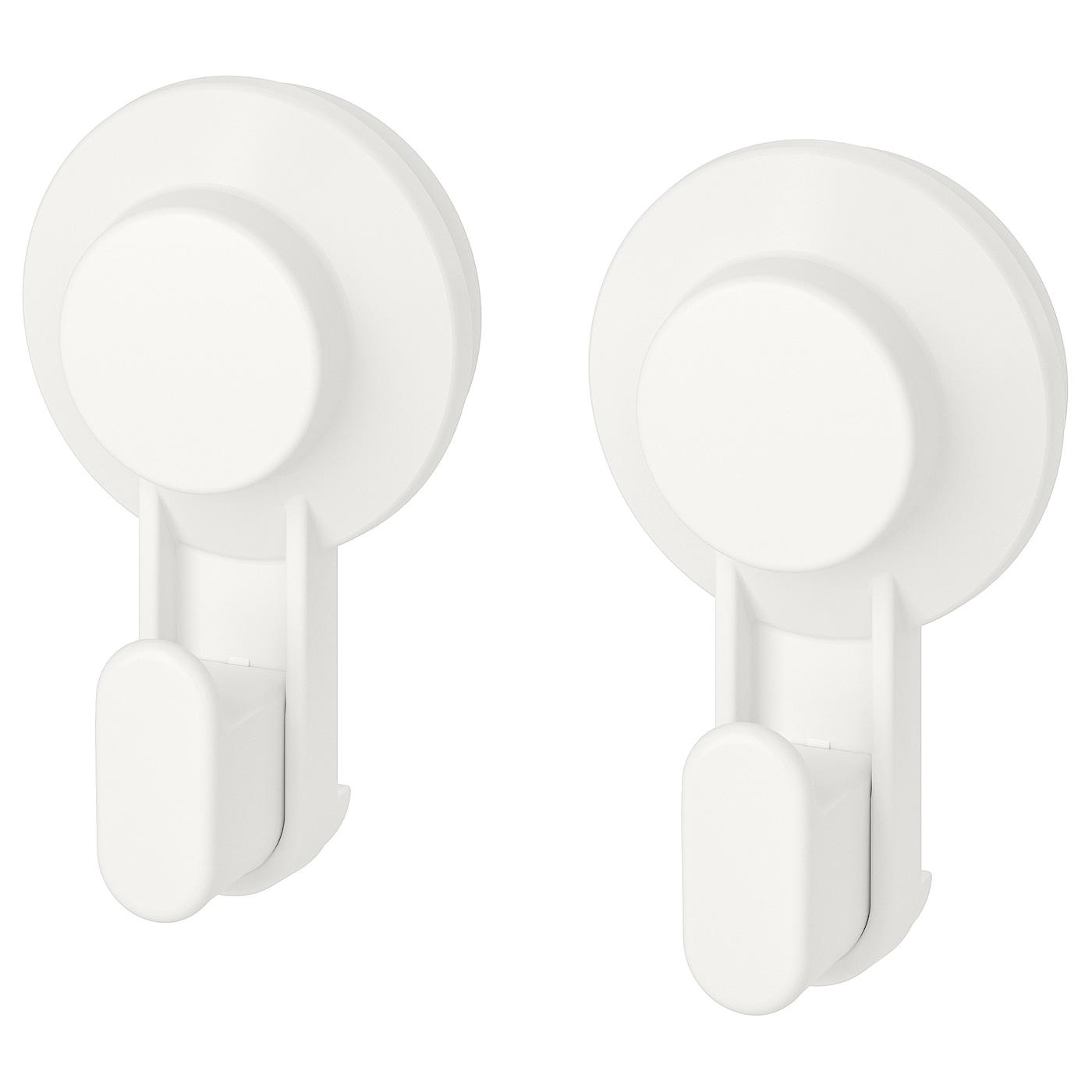 Accessori Bagno A Ventosa Ikea.Tisken Gancio Con Ventosa Bianco Ikea It