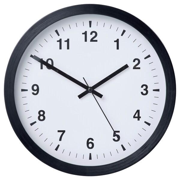 Tjalla orologio da parete nero ikea for Orologio adesivo da parete ikea